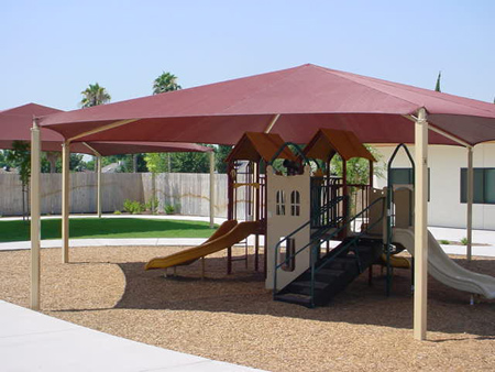 Fabric Canopy Photo 17 Shade Structures Canopies Shade